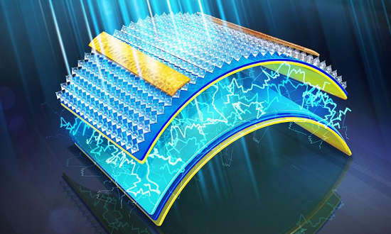Self-powered ultra-flexible organic skin electronics